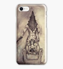Pyramid head silent hill iPhone Case/Skin