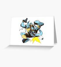 Salty Roo!!! Greeting Card