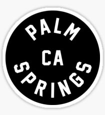 Palm Springs - California Sticker
