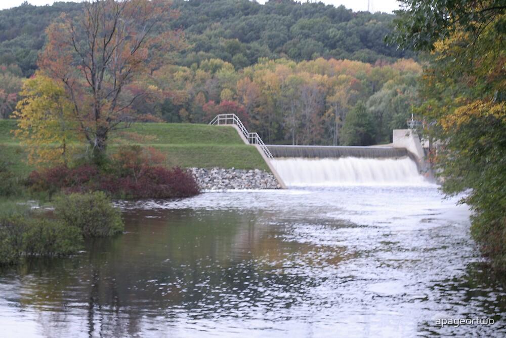 lake gardner dam  by apageortwo