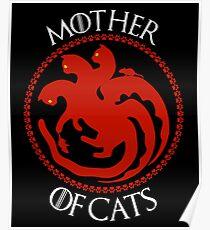 Mother Of Cats. Gatos. Dragones y Ratones Poster