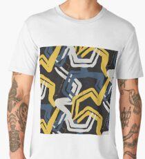 Mustard lines Men's Premium T-Shirt