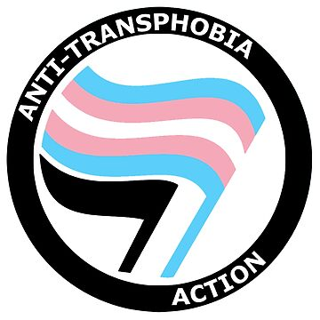 anti-transphobe antifa thingy by alienhexfriend