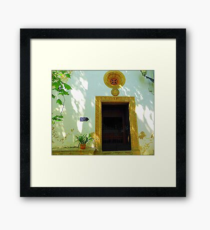Private Chapel.......................................Majorca Framed Print