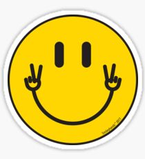 "Smileyhands ""Peace!"" Sticker"