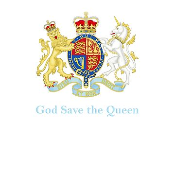 Royal Coat of Arms, Queen Elizabeth, British Monarchy by cinn