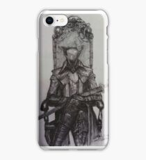 Lady maria bloodborne iPhone Case/Skin