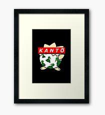 KANTŌ simple  Framed Print