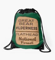 Great Bear Wilderness Drawstring Bag