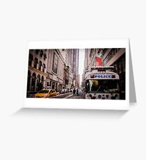 Busy Streets Greeting Card