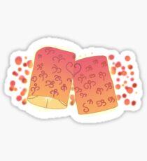 Loving Lanterns -Tangled  Sticker