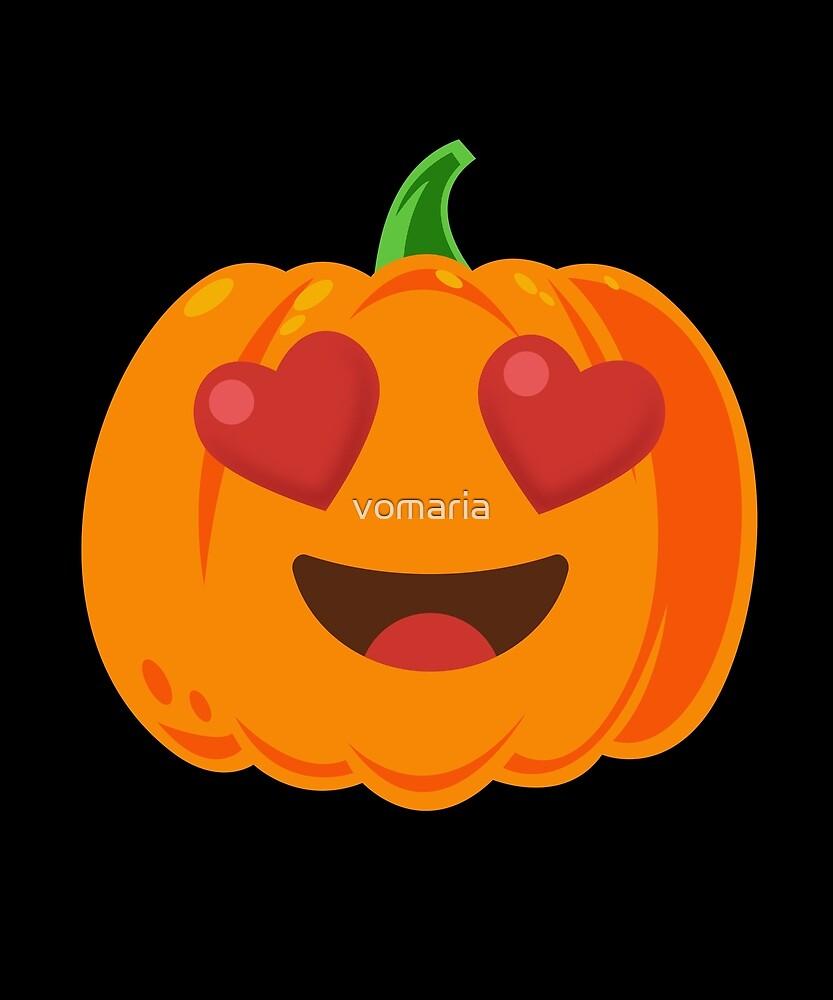 Pumpkin Heart Eyes  by vomaria