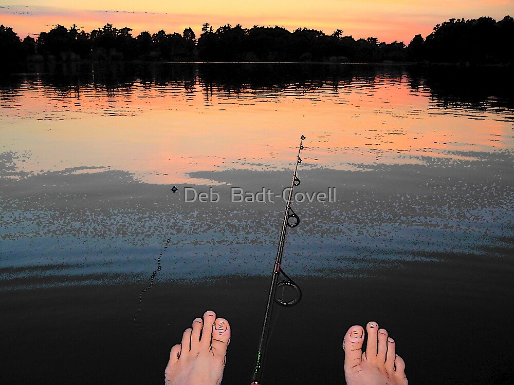 Fishing by Deb  Badt-Covell