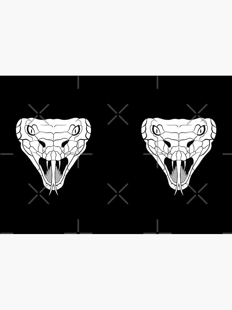 Snake head line-art by kritwanblue