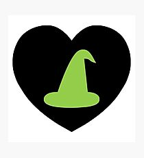 Wicked Witch Love | I Heart... Photographic Print