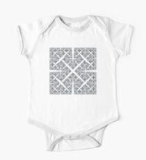 Cesàro Fractal - Square Kids Clothes