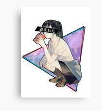 STOLEN - Sad Japanese Aesthetic  Canvas Print