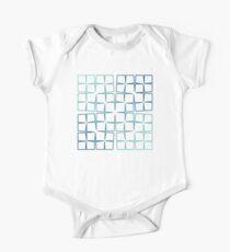 Cesàro Fractal - Square Gradient Kids Clothes
