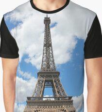Eiffel Tower, Paris, France Graphic T-Shirt
