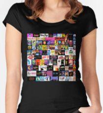 MUSICALS! (Duvet, Clothing, Book, Pillow, Sticker, Case, Mug etc)  Women's Fitted Scoop T-Shirt