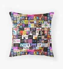 MUSICALS! (Duvet, Clothing, Book, Pillow, Sticker, Case, Mug etc)  Throw Pillow