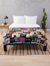 MUSICALS! (Duvet, Clothing, Book, Pillow, Sticker, Case, Mug etc)  Throw Blanket