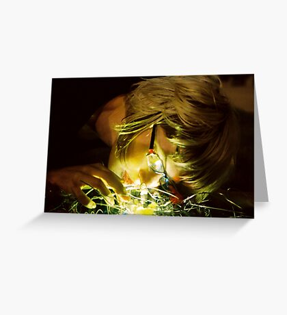 Twisted Light Greeting Card