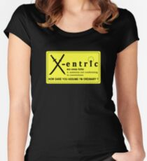 ECCENTRIC Women's Fitted Scoop T-Shirt
