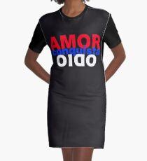 el amor conquista el odio Graphic T-Shirt Dress