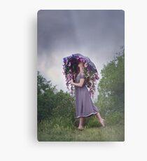 Perennial Parasol Metal Print