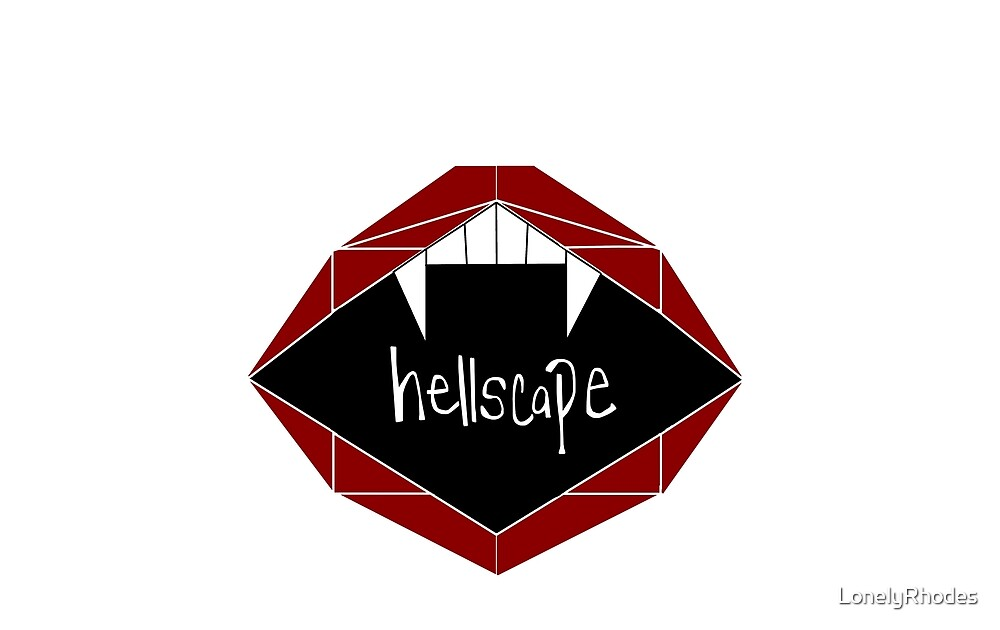 hellscape_white by LonelyRhodes