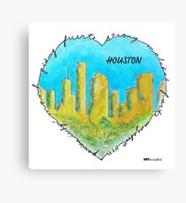 Houston: Diverse and Strong Canvas Print
