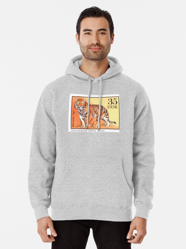 Quot 1975 East Germany Zoo Tiger Postage Stamp Quot Pullover