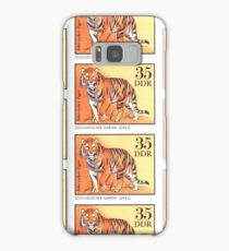 1975 East Germany Zoo Tiger Postage Stamp Samsung Galaxy Case/Skin
