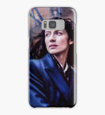 Claire Randall- The Sassenach In Blue Samsung Galaxy Case/Skin