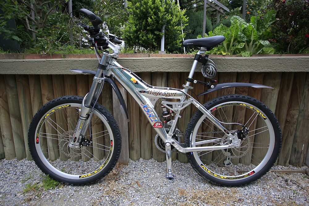 MY CUSTOM DOWNHILL BIKE AFTER 4 YEARS IN THE MAKING! by play4ful