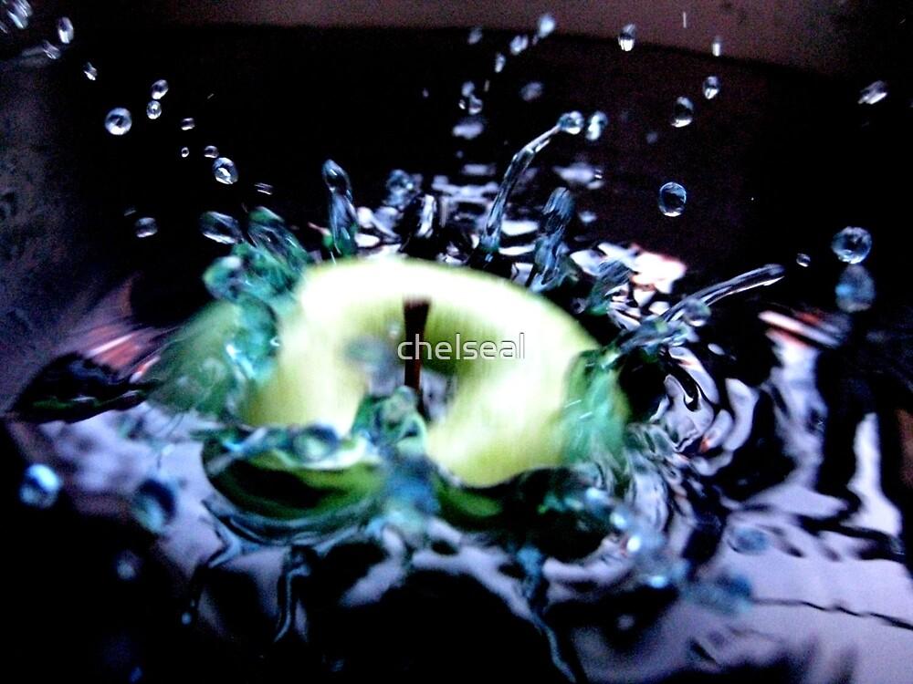 Apple & Splash III by chelseal