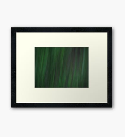 Grass - Dark Framed Print