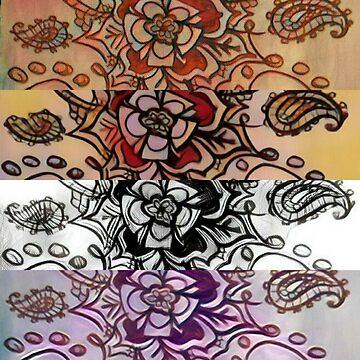 Flower pattern by juartdesign