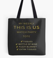 Bolsa de tela Mi semanales This Is Us Watch Party Tote