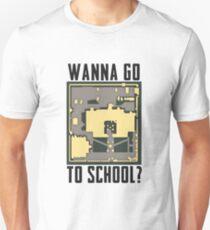 PUBG Wanna Go To School T-Shirt