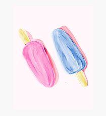 Popsicles Photographic Print