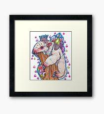 Glam Anteater Framed Print