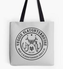 Veggie Slaughterhouse Certified Badge Tote Bag