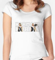 NORMANI KORDEI - FIFTH HARMONY Women's Fitted Scoop T-Shirt
