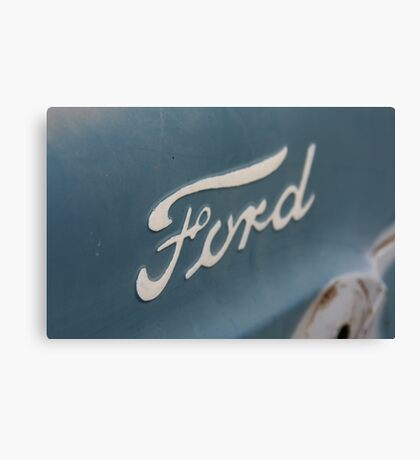 """Built Ford Tough"" Canvas Print"