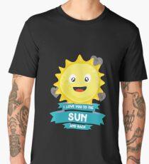 Love you Sun to Moon Character stars-Design Men's Premium T-Shirt