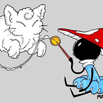 Little Mushroom Witch by RadioactiveSoda