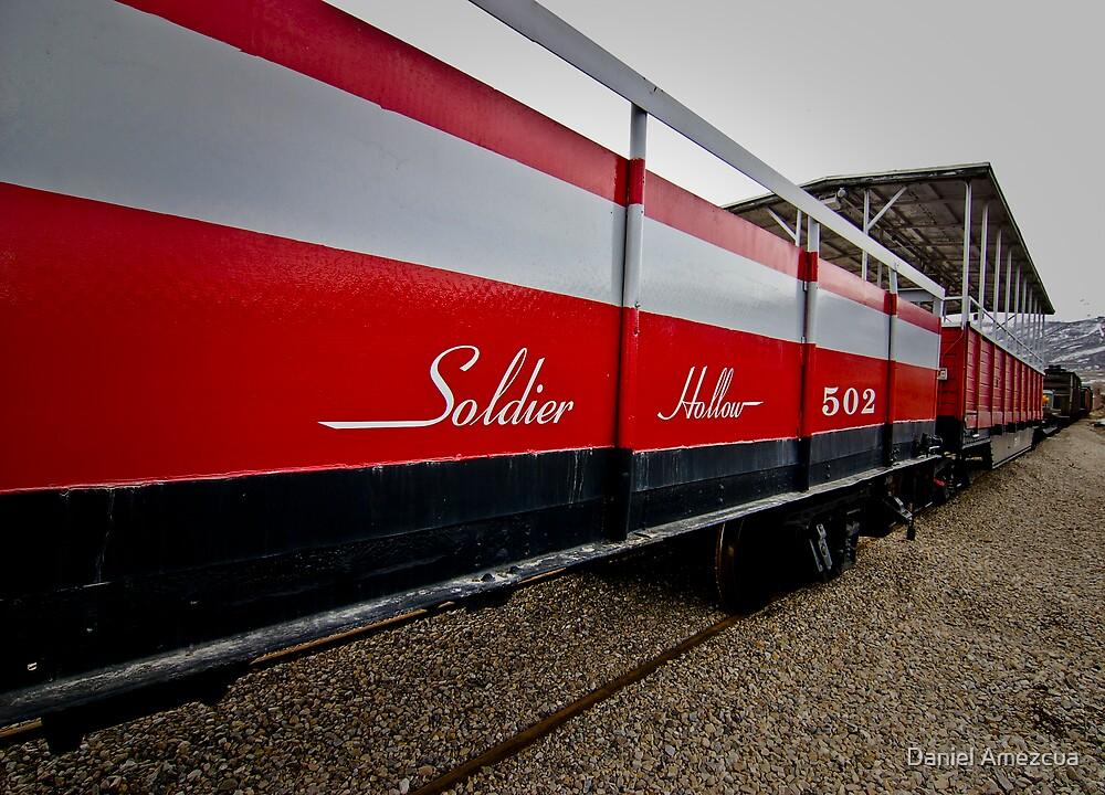 The Red Train by Daniel Amezcua