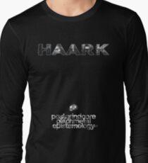 HAARK - PostGrindcore Glitchmetal Epistemology... Long Sleeve T-Shirt
